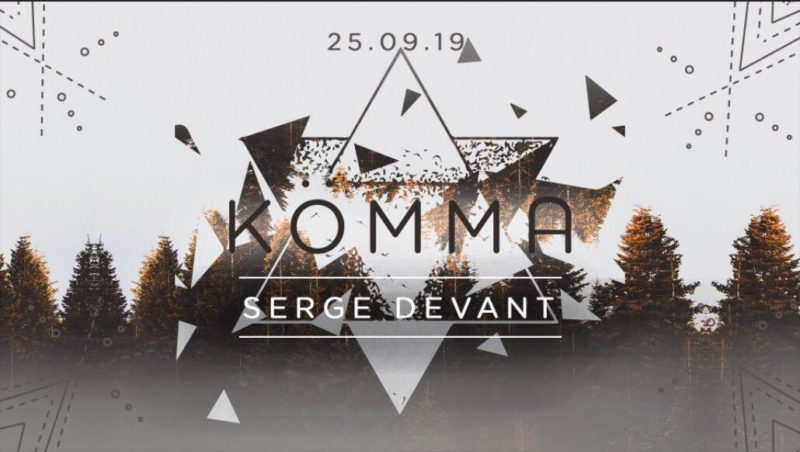 KÖMMA x Paris Fashion Week w/ Serge Devant