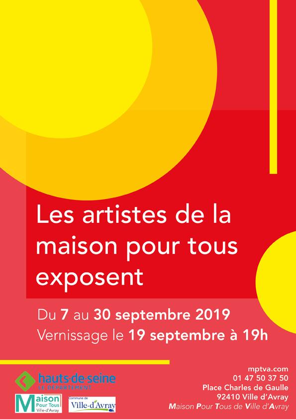 Les artistes de la Maison Pour Tous exposent ...