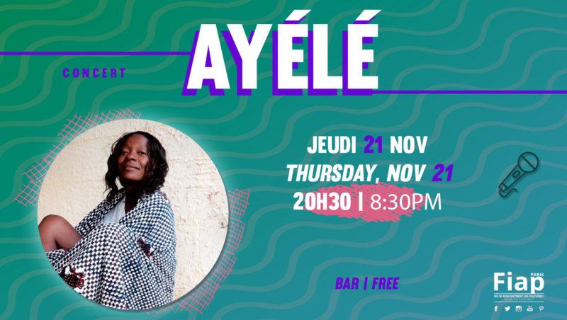 Concert Ayélé @FIAP