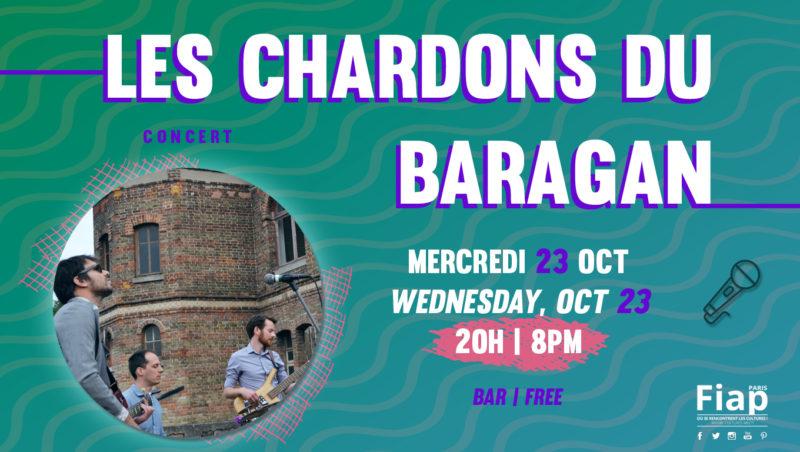 Concert les Chardons du Baragan @FIAP