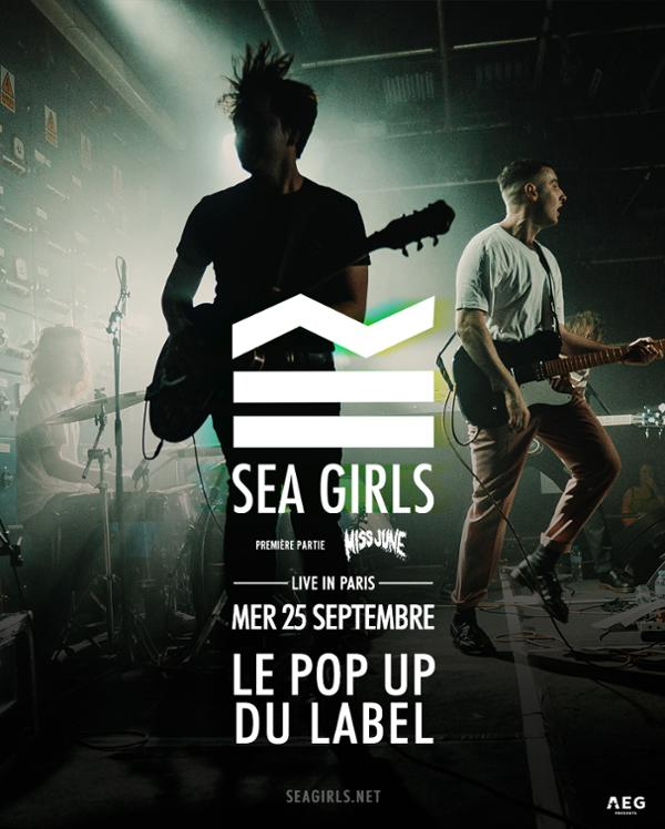 SEA GIRLS // 25.09.19 // POPUP!