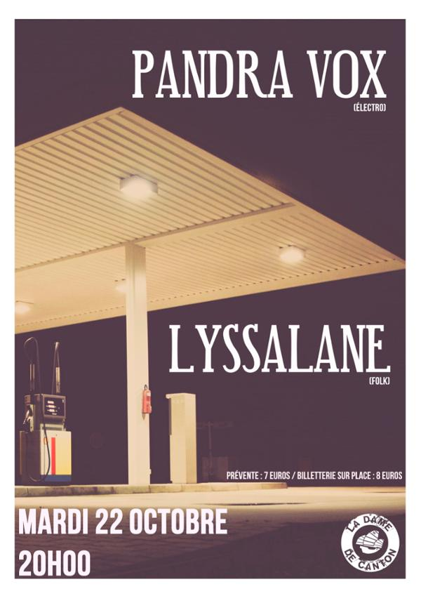 LYSSALANE + PANDRA VOX