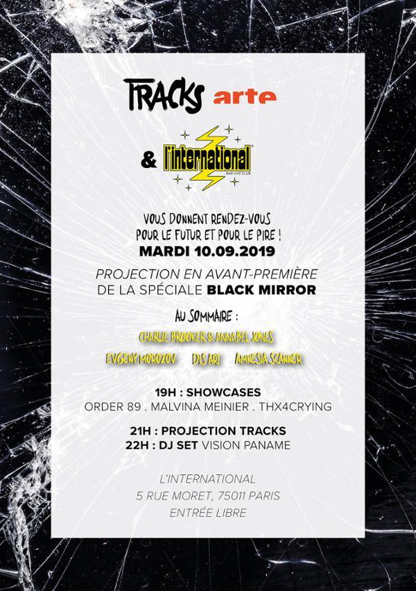 Soirée Tracks Arte spéciale Black Mirror