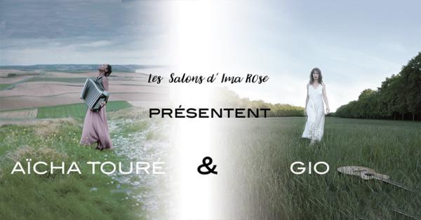 Sirènes en Seine Aïcha Touré et Gio