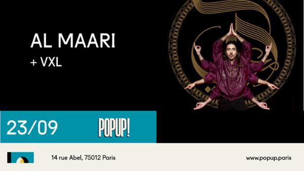 AL MAARI // 23.09.19 // POPUP!