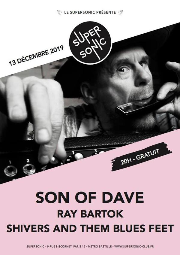 Son of Dave • Ray Bartok • Shivers And Them Blues Feet / Free