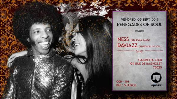 Renegades Of Soul// Davjazz & Dj Ness