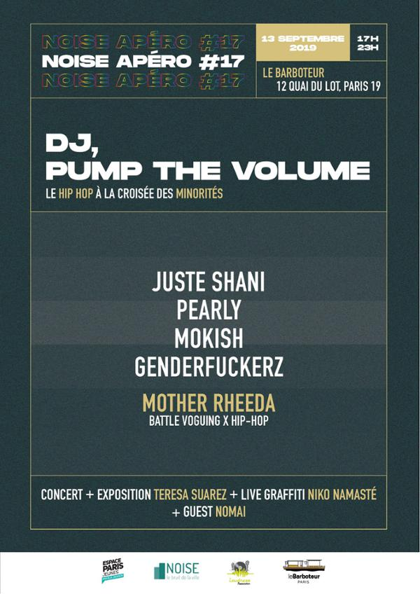 "Noise Apéro #17 ""DJ, Pump the Volume"" @LeBarboteur"