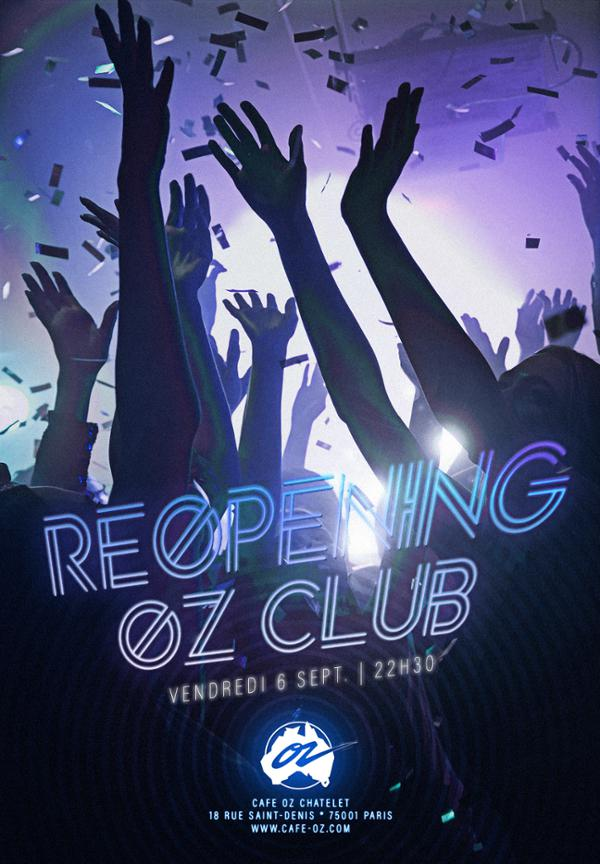 Reopening Party du Oz Club