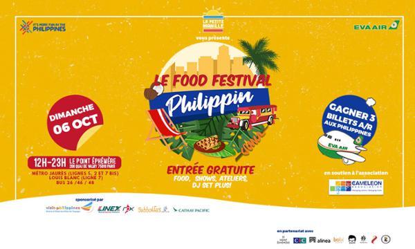 FOOD FESTIVAL PHILIPPIN PARIS