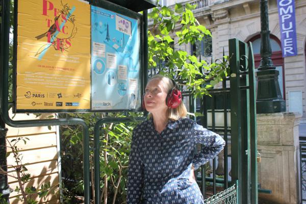 Electrical Walks Paris avec l'artiste