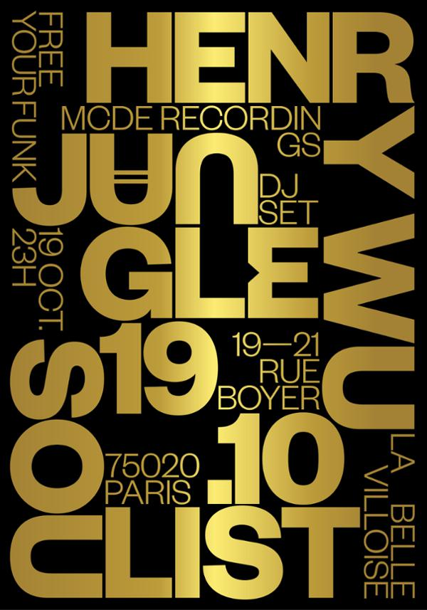 FREE YOUR FUNK w/ JUNGLE (DJ SET), HENRY WU, SOULIST