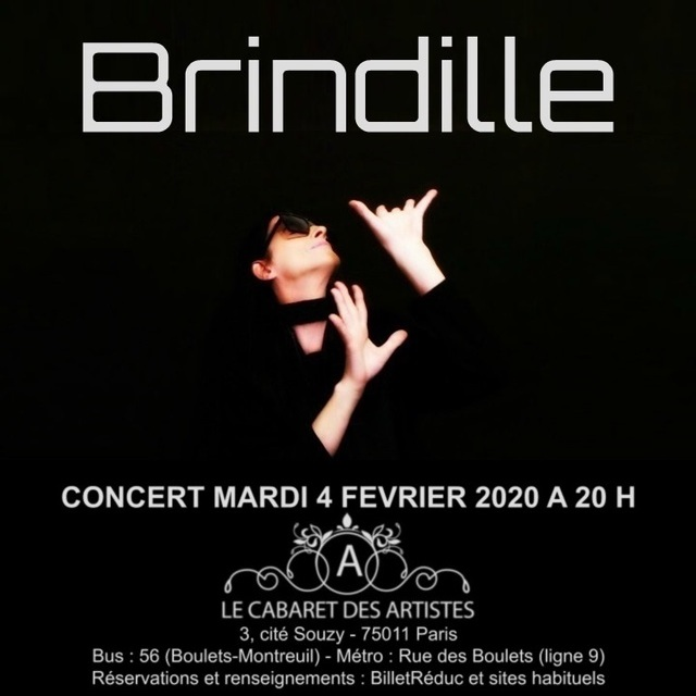 Concert de Brindille au Cabaret des Artistes (Artishow Cabaret)