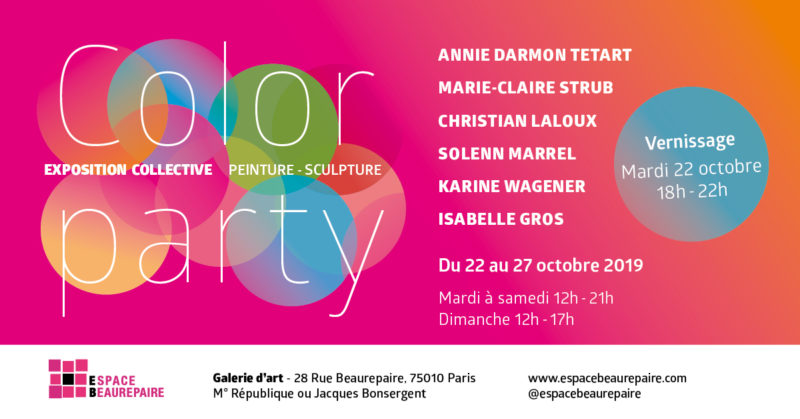 EXPOSITION COLOR PARTY