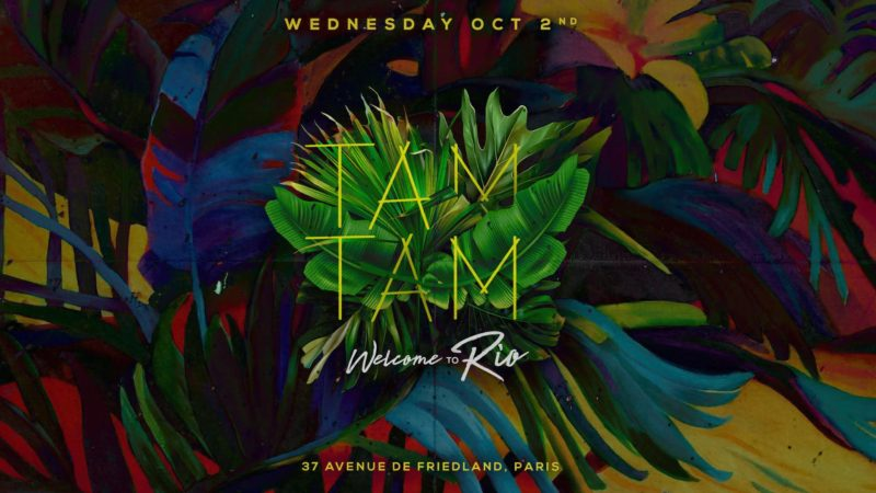 Wednesday October 02nd x TAM TAM