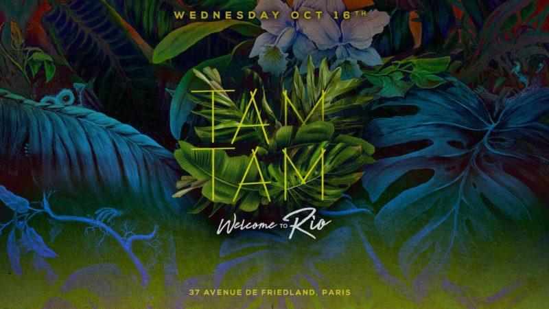 Wednesday October 16th x TAM TAM