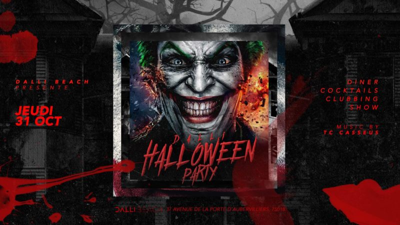 DALLI Club - Jeudi 31 Octobre x Halloween PARTY