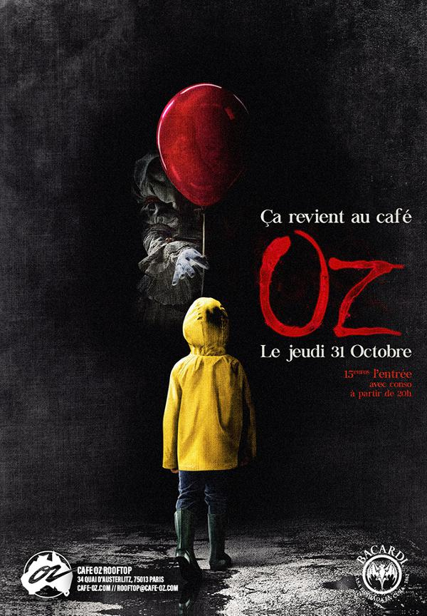 Halloween // ÇA revient au Café Oz Rooftop