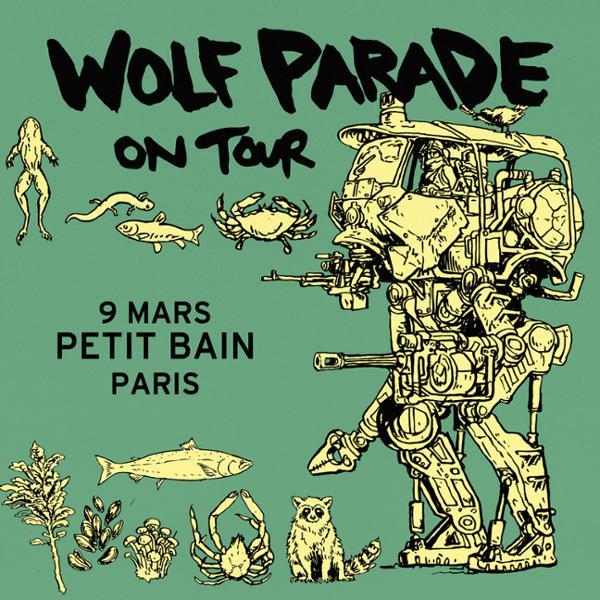 Wolf Parade + Guest :: 09.03 :: Petit Bain