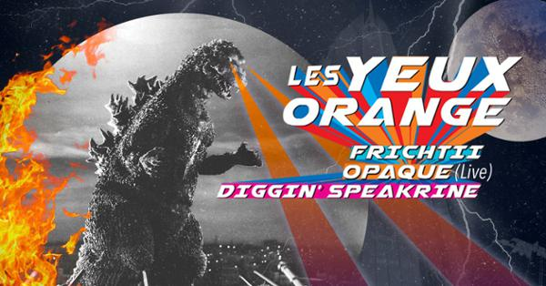 Les Yeux Orange / Opaque (live) / Diggin'Speakrine / Frichtii
