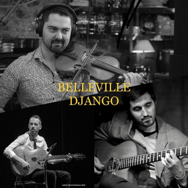 CAFE-CONCERT : BELLEVILLE DJANGO QUARTET