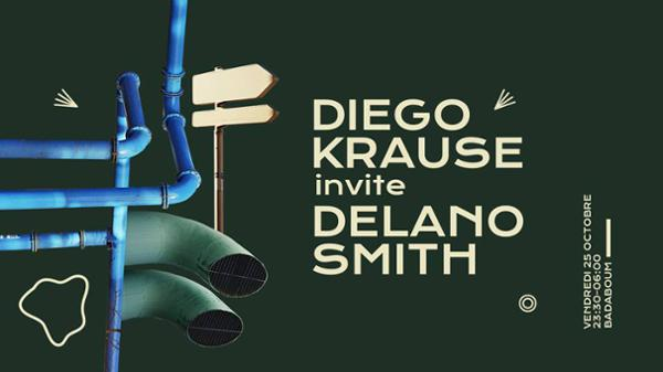 Badaboum : Diego Krause invite Delano Smith