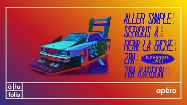 APERO TTR : ALL STAR DJ set + live