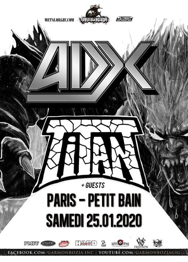 Adx & Titan // Paris