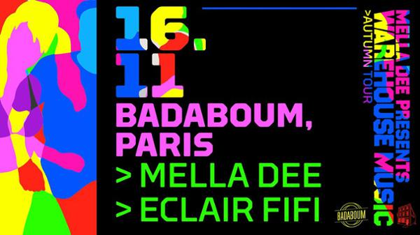 Badaboum : Mella Dee, Eclair Fifi