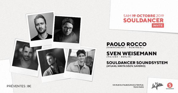 Souldancer invite: Paolo Rocco, Sven Weisemann & Souldancer Crew