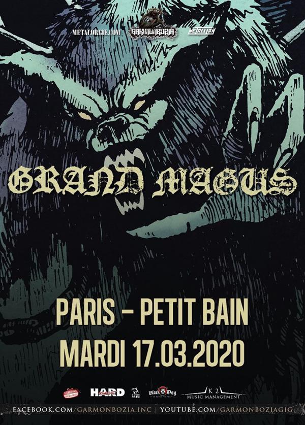 Grand Magus // Paris