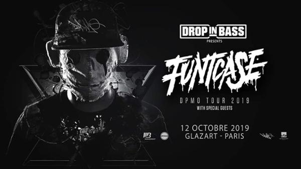 DROP IN BASS : Line up : FUNTCASE + COOKIE MONSTA + TBA
