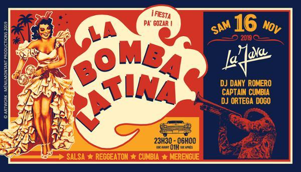 La Bomba Latina à La Java !