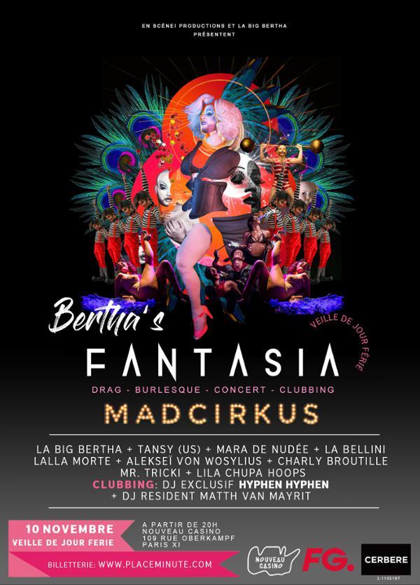 BERTHA'S FANTASIA - MADCIRKUS