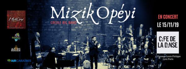 Mizikopéyi Big band de retour à Paris