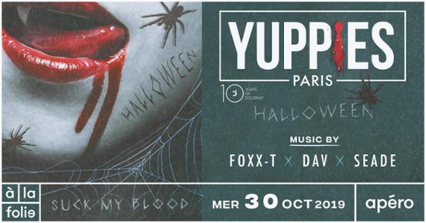 Yuppies Nation x à la folie : Halloween