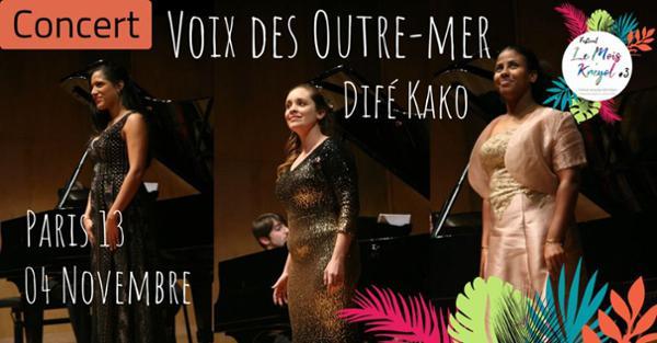 Concert dansé // Danse des Voix des Outre-mer