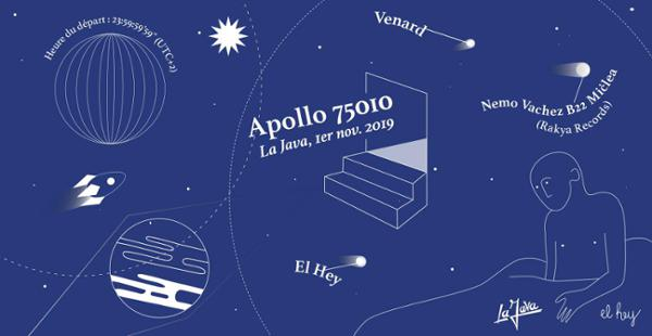 El Hey - Apollo 75010 w/ Nemo Vachez B2B Miclea & Venard
