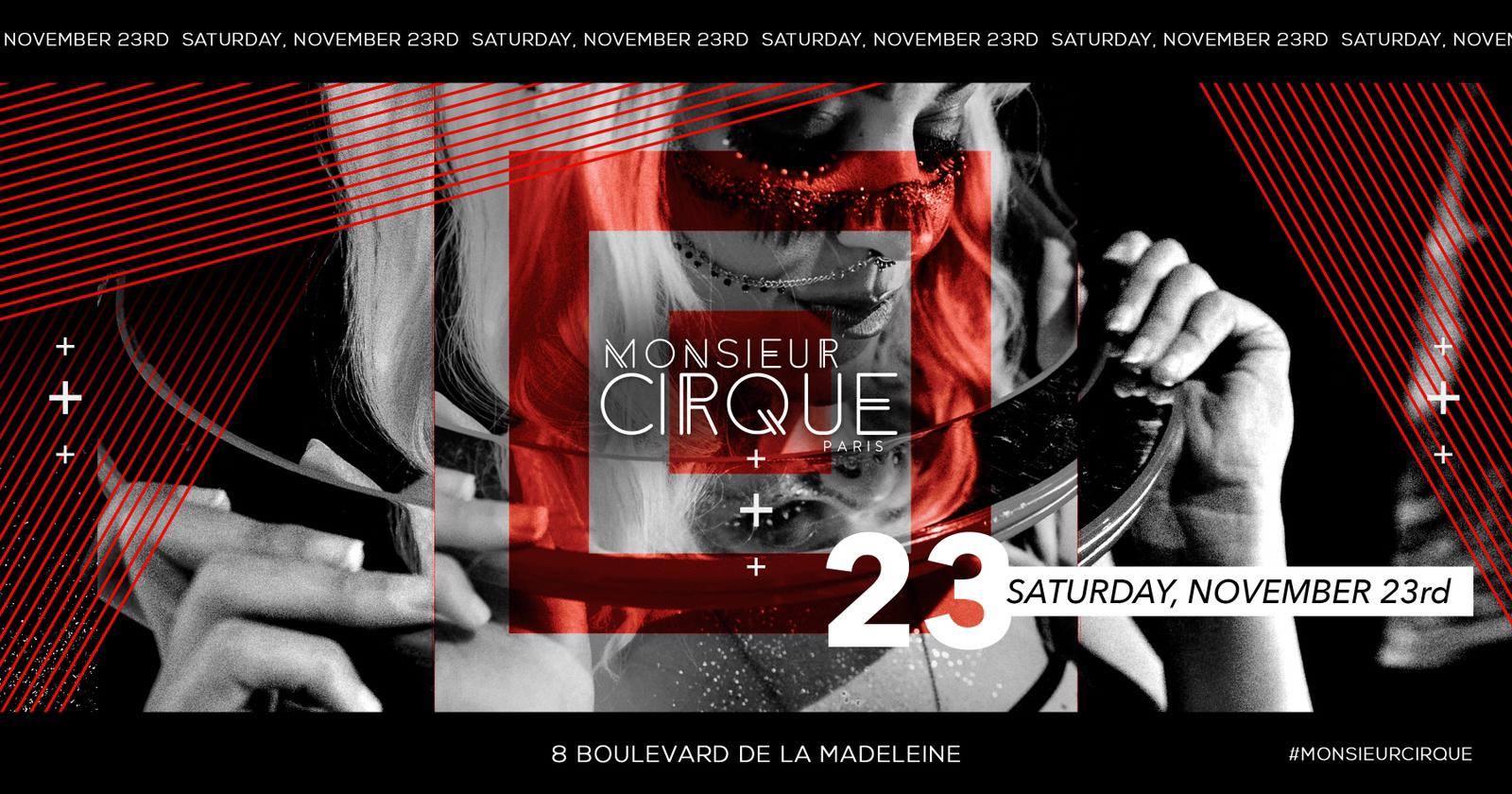 ★ Monsieur Cirque - Samedi 23 Nov ★