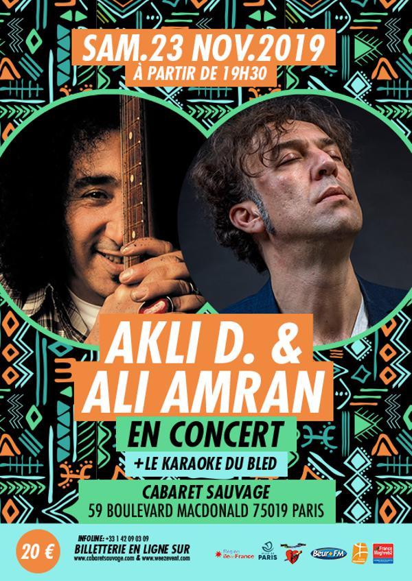 Akli D. & Ali Amran en concert