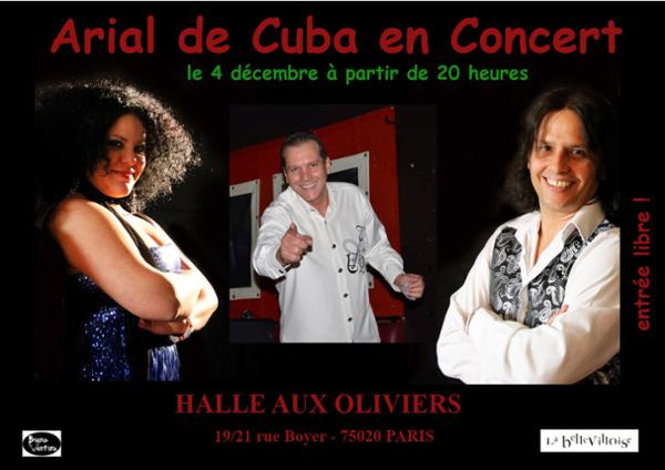 CAFE-CONCERT : ARIAL DE CUBA TRIO