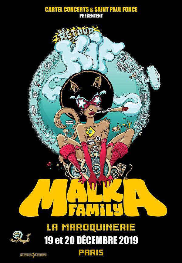 Les MALKA FAMILY s'installent à la Maroquinerie les 19 et 20 décembre 2019 ! Un événement à ne pas rater !