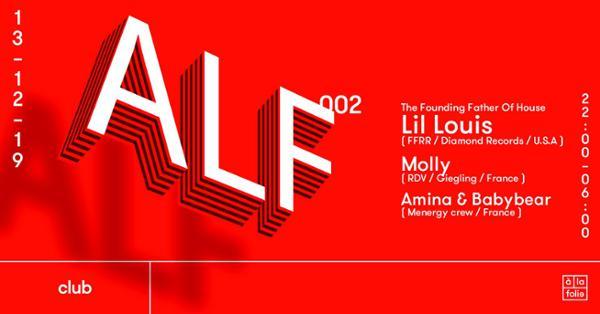 ALF 002 avec Lil Louis • Molly • Amina • Babybear