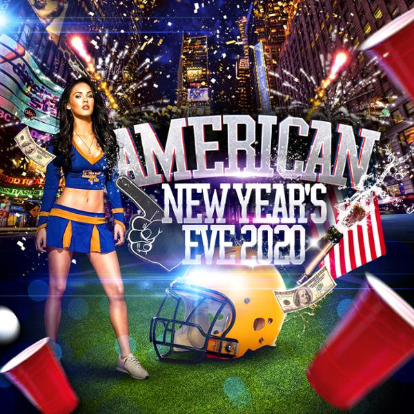 Réveillon AMERICAN NEW YEAR'S EVE 2020