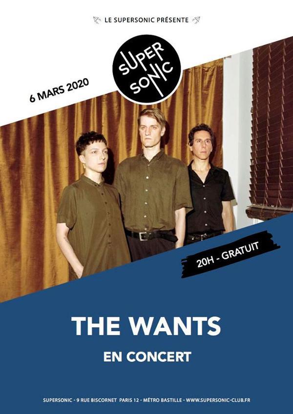 The Wants en concert au Supersonic (Free entry)