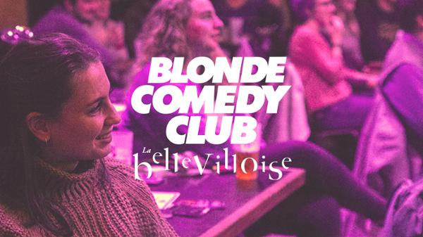 BLONDE COMEDY CLUB