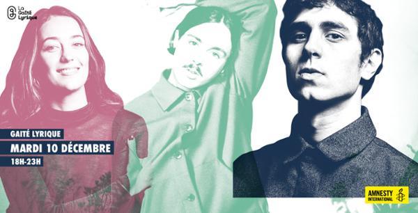 Amnesty International : concert de Kazy Lambist