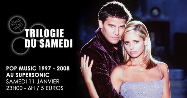 Trilogie du Samedi #21 // Nuit 90s 2000s du Supersonic