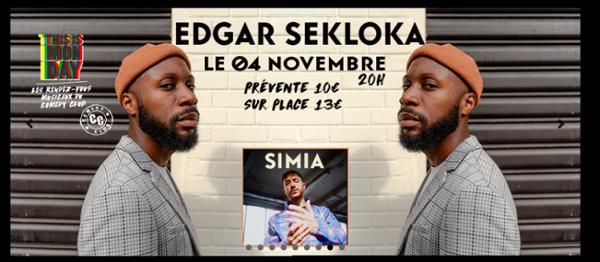 Edgar Sekloka : showcase au Comedy Club