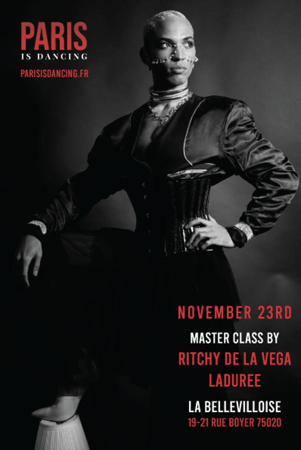 PARIS IS DANCING - MASTERCLASS VOGUE FEM + RUNWAY w/ RITCHY DE LA VEGA